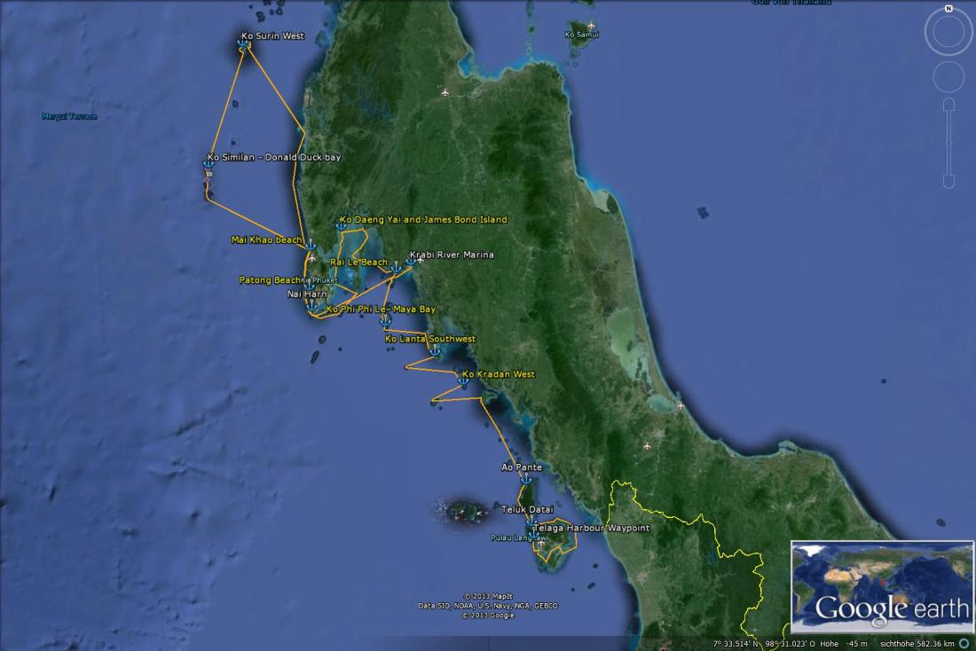 200-Saliara 2013-2014 Thailand - Malaysia - Trip Overview