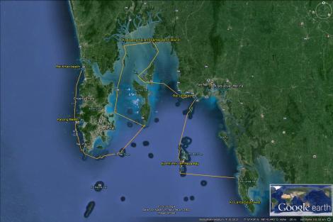 220 Saliara 2013-2014 Thailand - Malaysia - Trip Phuket