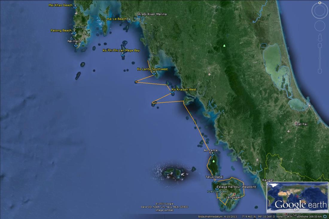 230 Saliara 2013-2014 Thailand - Malaysia - Trip Langkawi